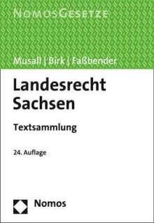 Landesrecht Sachsen, Buch