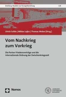 Vom Nachkrieg zum Vorkrieg, Buch