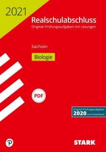 STARK Original-Prüfungen Realschulabschluss 2021 - Biologie - Sachsen, Buch