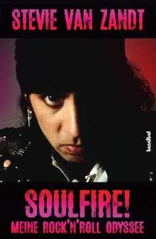 Stevie van Zandt: Soulfire!, Buch