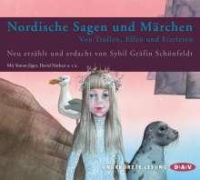 Sybil Gräfin Schönfeldt: Nordische Sagen und Märchen, 3 CDs