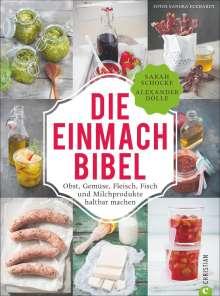 Sarah Schocke: Die Einmach-Bibel, Buch