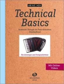 Heinz Hox: Technical Basics, Noten