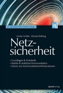 Günter Schäfer: Netzsicherheit, Buch
