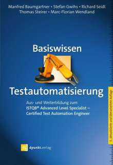 Manfred Baumgartner: Basiswissen Testautomatisierung, Buch