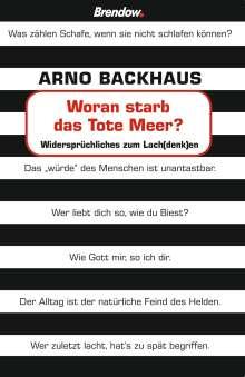 Arno Backhaus: Woran starb das tote Meer?, Buch