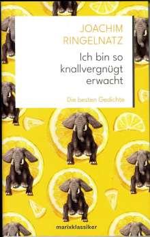 Joachim Ringelnatz: Ich bin so knallvergnügt erwacht, Buch