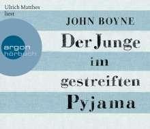 John Boyne: Der Junge im gestreiften Pyjama (Hörbestseller), 4 CDs