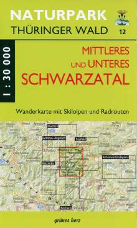 Wanderkarte Mittleres und unteres Schwarzatal 1:30.000, Diverse