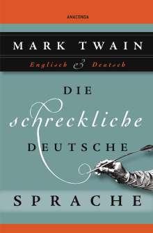 Mark Twain: Die schreckliche deutsche Sprache, Buch
