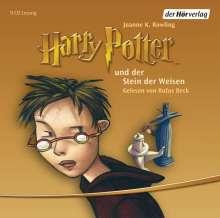 Joanne K. Rowling: Harry Potter 1 und der Stein der Weisen, 9 CDs