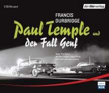 Francis Durbridge: Paul Temple und der Fall Genf, 3 CDs