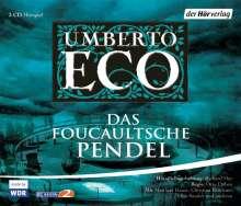 Umberto Eco (1932-2016): Das Foucaultsche Pendel, 3 CDs