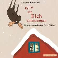 Andreas Steinhöfel: Es ist ein Elch entsprungen, CD