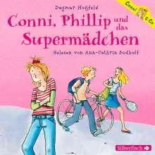 Dagmar Hoßfeld: Conni & Co - Conni, Phillip und das Supermädchen, 2 CDs