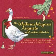 Friedrich Wolf: Die Weihnachtsgans Auguste und andere Märchen, CD