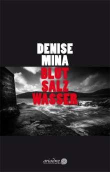 Denise Mina: Blut Salz Wasser, Buch
