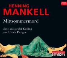Henning Mankell (1948-2015): Mittsommermord, 6 CDs