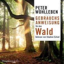 Peter Wohlleben: Gebrauchsanweisung für den Wald, 6 CDs
