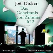 Joël Dicker: Das Geheimnis von Zimmer 622, 3 MP3-CDs