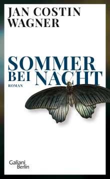 Jan Costin Wagner: Sommer bei Nacht, Buch