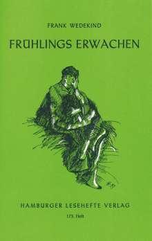 Frank Wedekind: Frühlings Erwachen, Buch