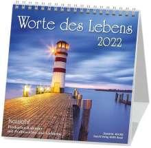 Worte des Lebens, Postkartenkalender 2015, Diverse