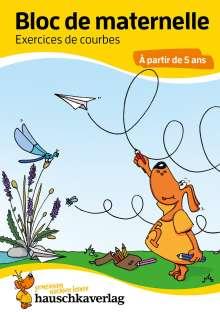 Linda Bayerl: Bloc de maternelle - Exercices de courbes À partir de 5 ans, A5-Bloc, Buch