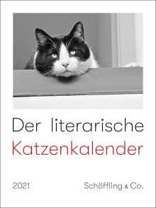 Der literarische Katzenkalender 2021, Diverse