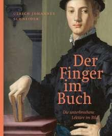 Ulrich Johannes Schneider: Der Finger im Buch, Buch