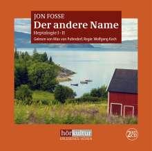 Jon Fosse: Der andere Name, MP3-CD