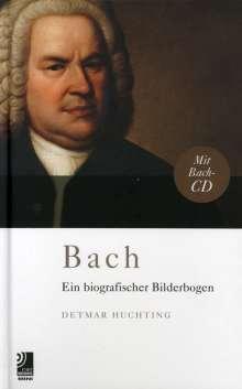 Johann Sebastian Bach (1685-1750): Bach - Ein biografischer Bilderbogen (CD + Buch), 1 CD und 1 Buch