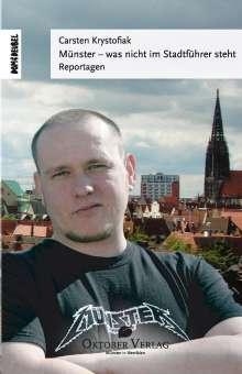 Carsten Krystofiak: Münster - was nicht im Stadtführer steht, Buch
