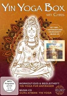 Yin Yoga Box, 1 DVD und 1 CD