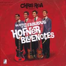 Chris Rea: The Return Of The Fabulous Hofner Bluenotes (Limited Deluxe Earbook), 3 CDs und 2 Singles 10""