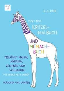 Vicky Bo: Vicky Bo's Kritzel-Malbuch und Mitmach-Buch, Buch