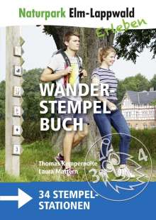 Thomas Kempernolte: Naturpark Elm-Lappwald - Wanderstempelbuch plus Karte, Buch