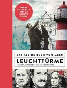 Stefan Kruecken: Das kleine Buch vom Meer: Leuchttürme, Buch