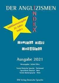 Der Anglizismen-Index 2021, Buch