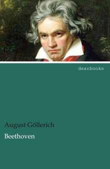 August Göllerich: Beethoven, Buch