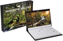 Magische Wälder Tischkalender 2020, Diverse