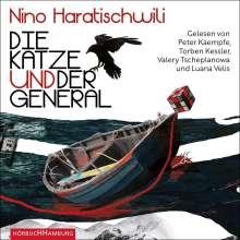 Nino Haratischwili: Die Katze und der General, 4 CDs