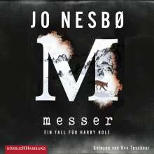 Jo Nesbo: Messer, 2 MP3-CDs