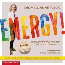 Anne Fleck: Energy!, 2 MP3-CDs