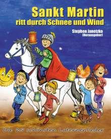 Sankt Martin ritt durch Schnee und Wind. Die 25 schönsten Laternenlieder, Buch