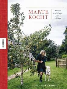 Marte Marie Forsberg: Marte kocht, Buch