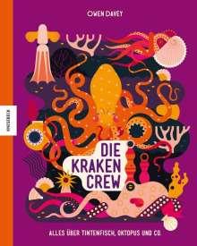 Owen Davey: Die Krakencrew, Buch