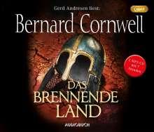Bernard Cornwell: Das brennende Land (MP3-CD), MP3-CD