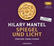 Hilary Mantel: Spiegel und Licht, 4 MP3-CDs