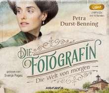Petra Durst-Benning: Die Fotografin - Die Welt von Morgen, 2 MP3-CDs